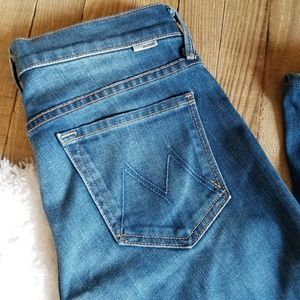 Mother Jeans THE RUNWAY Out of the Blue Size 25